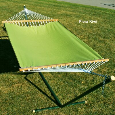 Polyester Tree Hammock Color: Fiera Kiwi, Size: 13