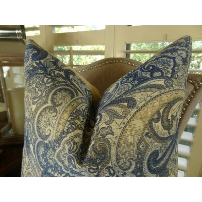 Paciotti Handmade Throw Pillow Size: 20 H x 36 W