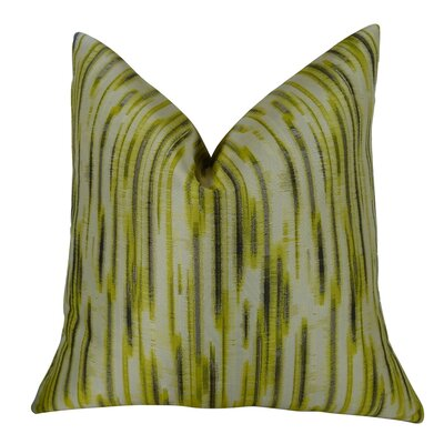 Pinceaux Handmade Throw Pillow Size: 24 H x 24 W