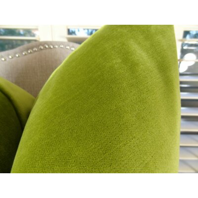 Contentment Grass Cotton Throw Pillow  Size: 24 H x 24 W