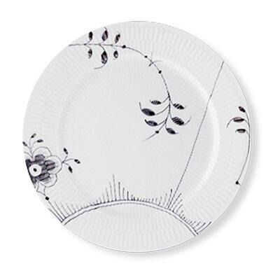 """Royal Copenhagen Black Fluted Mega 10.75"""" Dinner Plate 1017471"""