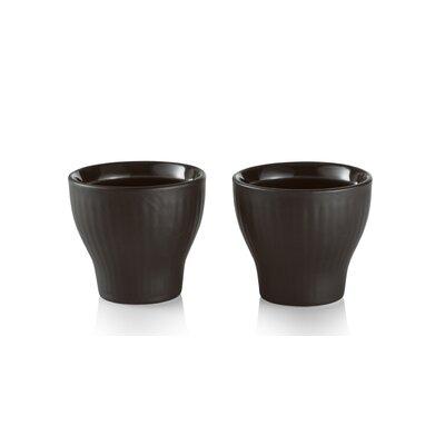 Royal Copenhagen Black Fluted Egg Cup 1017016