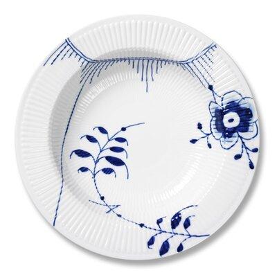 Blue Fluted Mega 11.75 Pasta Bowl