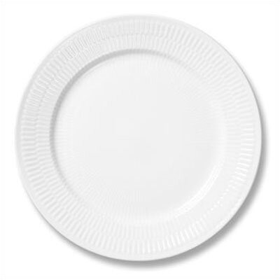 """Royal Copenhagen White Plain 8.75"""" Lunch / Dessert Plate 1017403"""