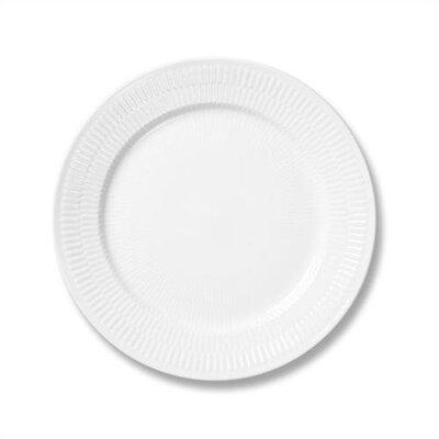 """Royal Copenhagen White Plain 10.75"""" Dinner Plate 1017404"""