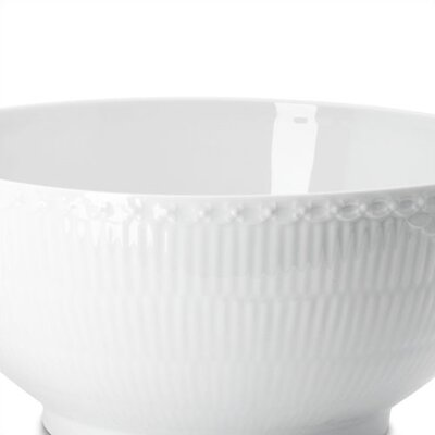 White Half Lace Dinnerware Collection-white Half Lace 13.5 Oz Bowl