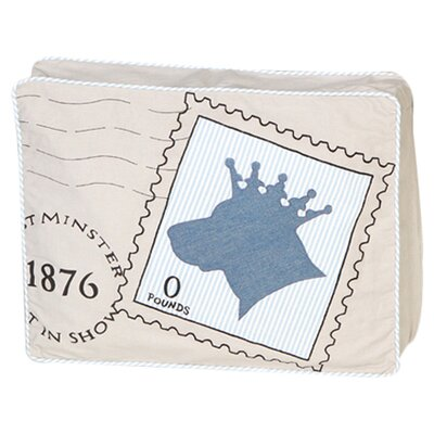 Royal Post Dog Pillow Size: Medium (25.5 L x 20 W)