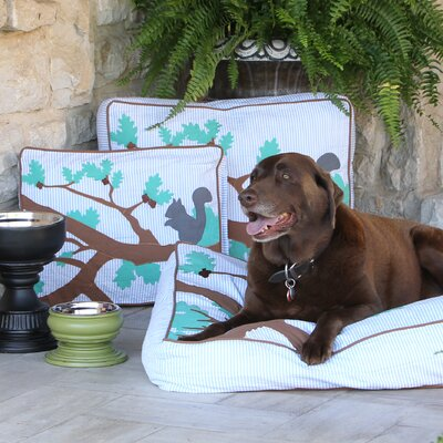 Forrest Park Dog Pillow Size: Large (34 L x 28 W)