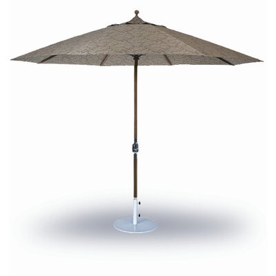 9 Dover Market Umbrella Fabric: Taupe, Opening Mechanism: Crank and Tilt