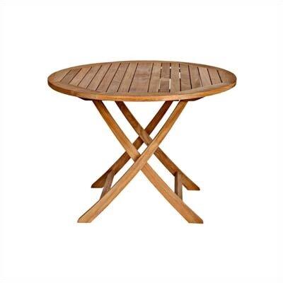Cambridge Round Folding Coffee Table