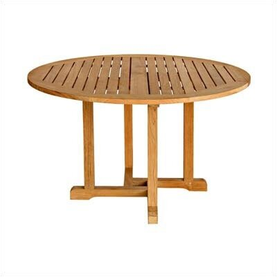 Oxford Round Dining Table Table Size: 48