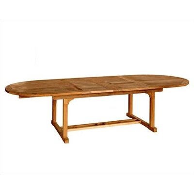 Chelsea Extendable Teak Dining Table - Product photo