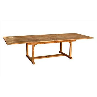Rectangle Extension Dining Table - Product photo