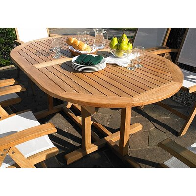 Oval Extension Dining Table 26194 Item Photo