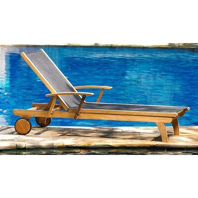 Teak Riviera Lounger 129 Product Pic