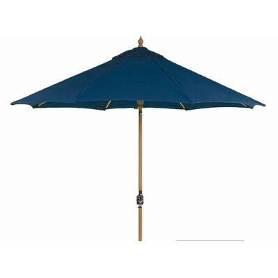 9 Dover Market Umbrella Fabric: Air Blue, Opening Mechanism: Crank and Tilt