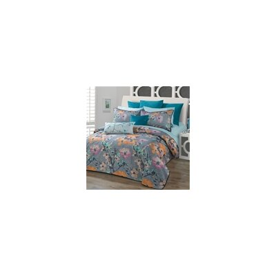 Yuki Duvet Cover Set Size: Twin 55574D5