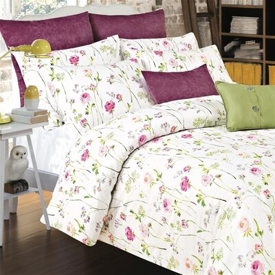 Provence 3 Piece Duvet Cover Set Size: Super King
