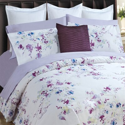 Rochelle Duvet Cover Set Size: King