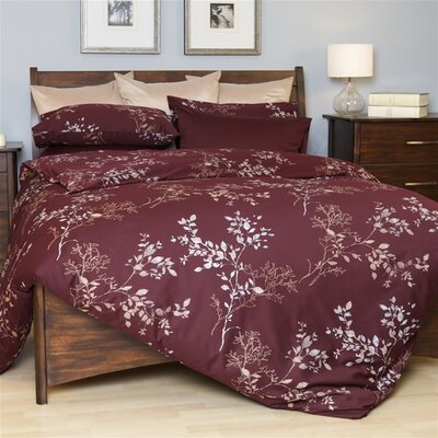 Forest Hills Duvet Cover Set Size: Double