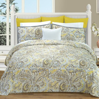 Athens Duvet Cover Set Size: Queen