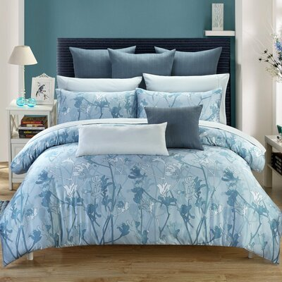 Melbourne Duvet Cover Set Size: Queen