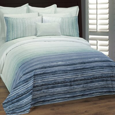 Seascape Duvet Cover Set Size: Queen