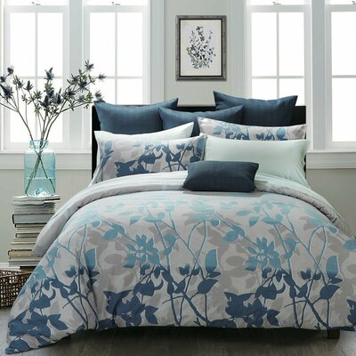 Nightfall Duvet Cover Set Size: Double