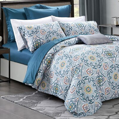Medallion Duvet Set Size: King