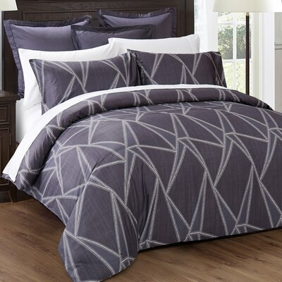Geo Duvet Set Size: California King