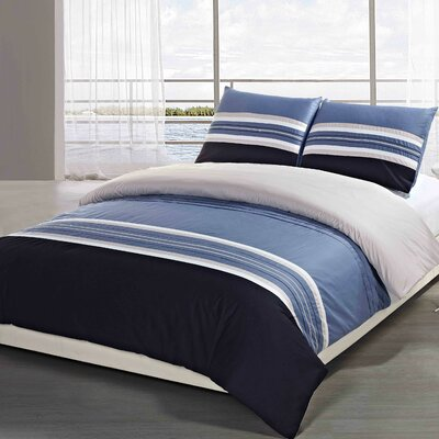 Stanford Duvet Cover Set Size: Queen