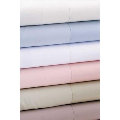 Luxe 600 Thread Count Extra Deep Sheet Set Size: King, Color: Soft Sage