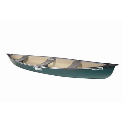 Buy Low Price Pelican 15.5′ Canoe in Green (AAA15P406-A)