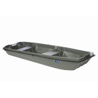 Buy Low Price Pelican Intruder 12 Jon Boat in Khaki (BJA12P106)