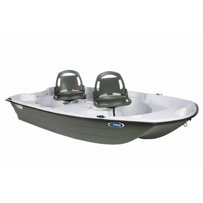 Buy Low Price Pelican Predator 103 Fishing Boat in White / Khaki (BPA10P104)