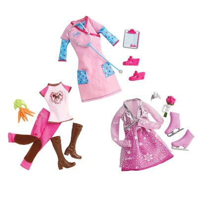 Mattel Barbie I Can Be Fashion Doll with Assorted Outfits at Sears.com