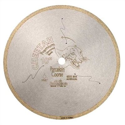 "SawMaster Cheetah Series Wet Tile Continuous Rim Diamond Blades - Size/Application: 7"" Glass (Coarse) at Sears.com"