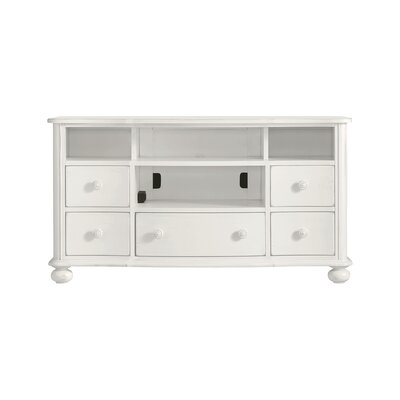 Coastal Living Retreat TV Stand Finish: Saltbox White