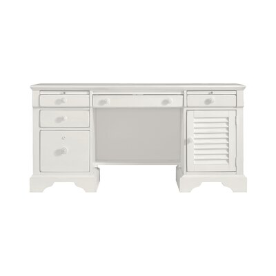 Coastal Living Executive Desk Finish: Saltbox White Product Image 53