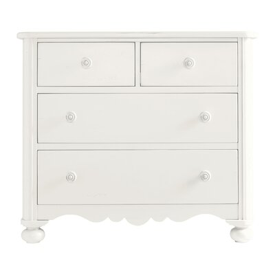 Coastal Living Retreat 4 Drawer Dresser Color: Saltbox White