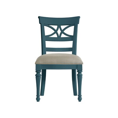 Coastal Living Retreat Sea Watch Side Chair Finish: English Blue
