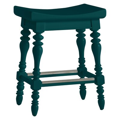 Coastal Living Retreat 25.13 Bar Stool Finish: Belize Teal