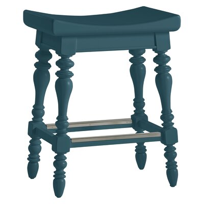 Coastal Living� Retreat 25.13 Bar Stool Finish: English Blue