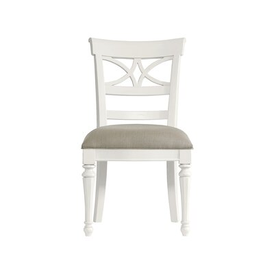 Coastal Living Retreat Sea Watch Side Chair Finish: Saltbox White