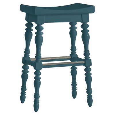 Coastal Living Retreat 31.13 Bar Stool Finish: English Blue