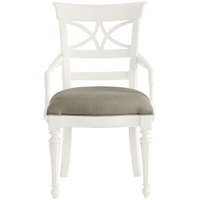 Coastal Living Retreat Sea Watch Arm Chair Finish: Saltbox White