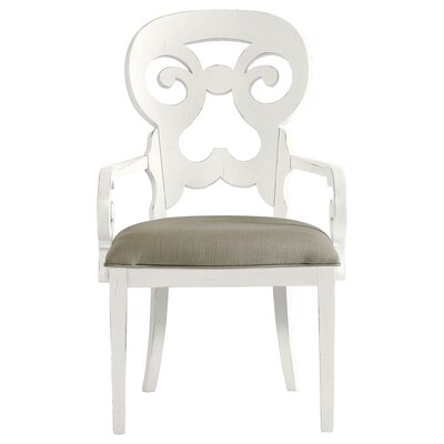 Coastal Living Retreat Wayfarer Solid Wood Dining Chair Finish: Saltbox White