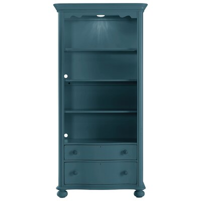Coastal Living Retreat 78 Bookcase Finish: English Blue Product Image 468