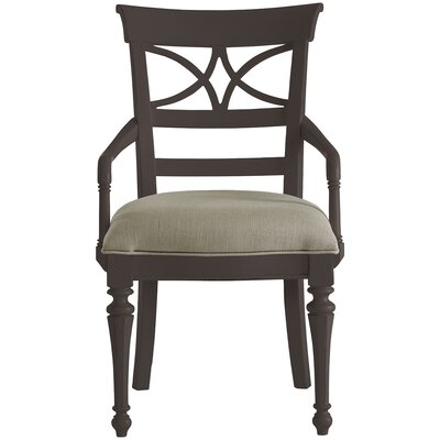 Coastal Living Retreat Sea Watch Arm Chair Finish: Goucester Grey