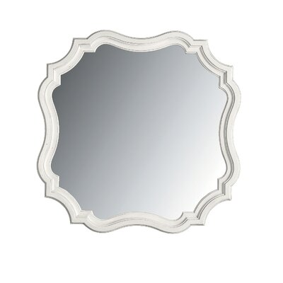 Coastal Living Retreat Piecrust Mirror Finish: Saltbox White